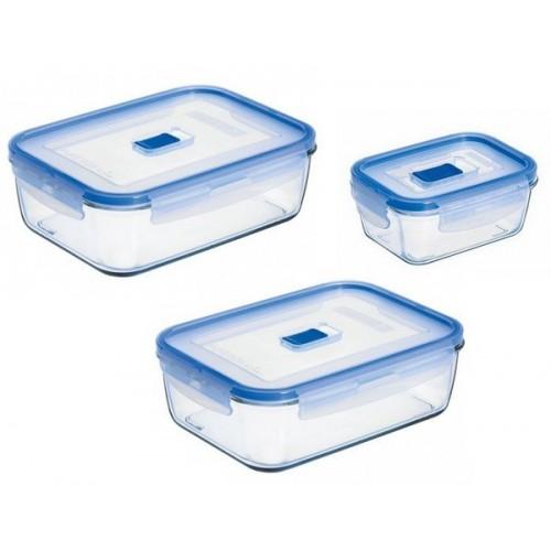 Набор контейнеров LUMINARC PURE BOX ACTIVE, 3 шт. N6241