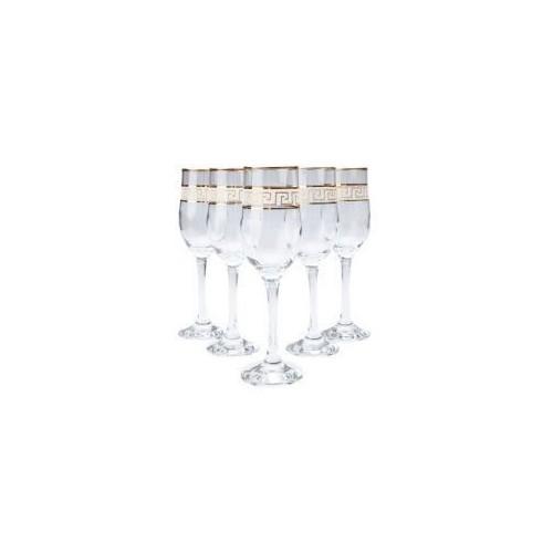Набор бокалов для шампанского VERSACE 195 мл 6 шт Gurallar Art Craft 31-146-231