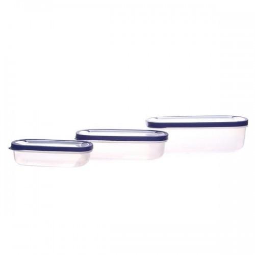 Набор емкостей для хранения продуктов 3 шт Helfer 45-169-006