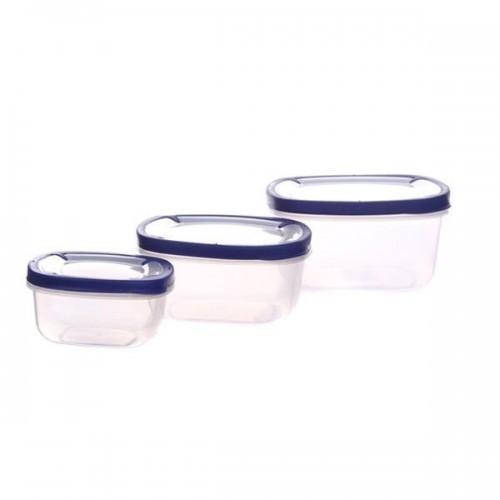 Набор емкостей для хранения продуктов 3 шт Helfer 45-169-008