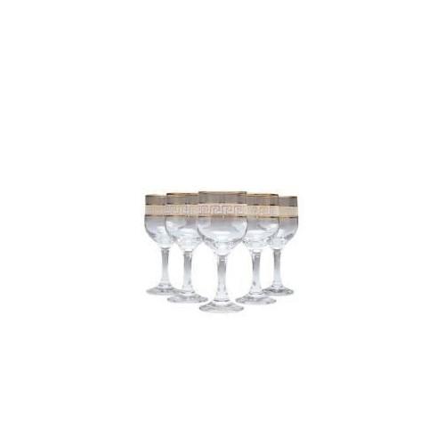 Набор бокалов для белого вина VERSACE 165 мл 6 шт Gurallar Art Craft 31-146-232