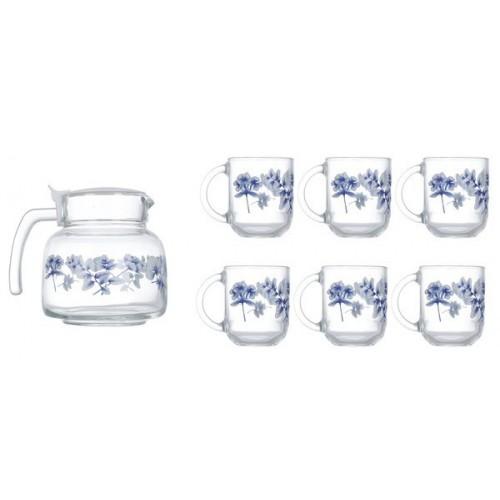 Сервиз чайный Luminarc ALTESE BLUE 7 предметов N6224