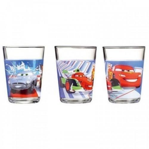 Детский набор стаканов Disney Cars 2 (3 х 160) Luminarc H1493