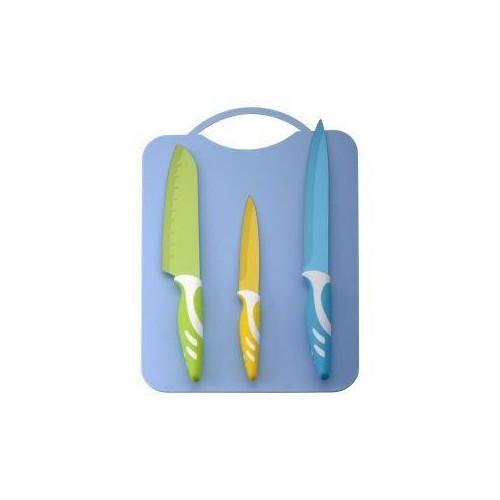 Набор ножей + доска для нарезания 4 пр.Martex