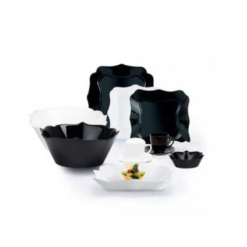 Сервиз столовый LUMINARC AUTHENTIC BLACK&WHITE, 38 предметов P4677