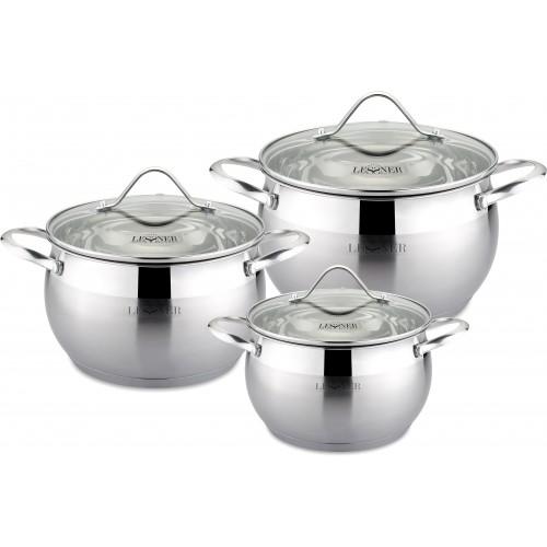 Набор посуды 6пр Lessner 55868