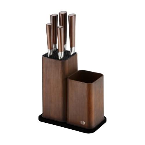 Набор ножей Krauff на подставке 5 предметов (26-288-001)