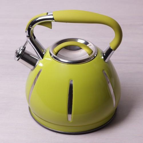 Чайник Салатовый Kamille 3 литра KM-0691A