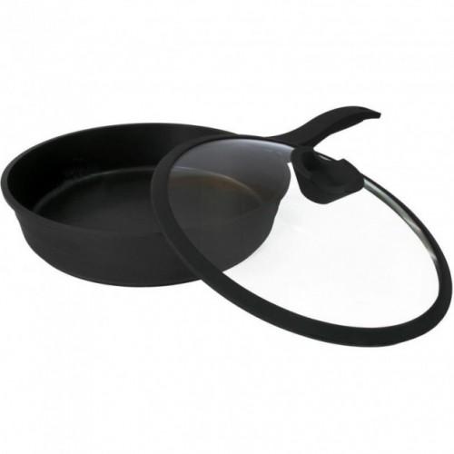 Сковорода Lessner 88374-28 Black Pro New