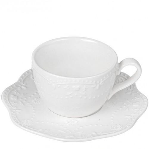Чашка 120 мл с блюдцем Mariposa Krauff 21-252-097