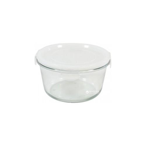 Емкость с крышкой стеклянная круглая Krauff 1,65 л 32-72-002