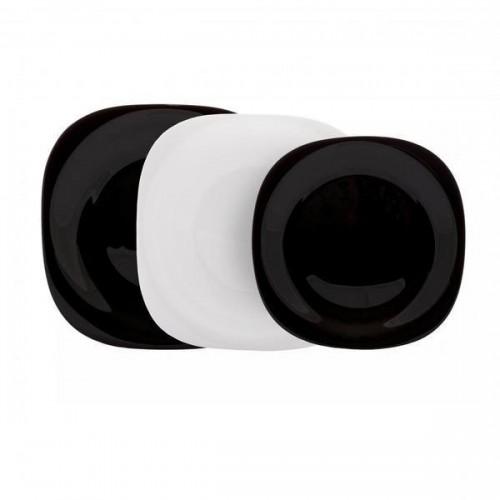 Сервиз столовый LUMINARC CARINE BLACK&WHITE, 18 предметов N1479