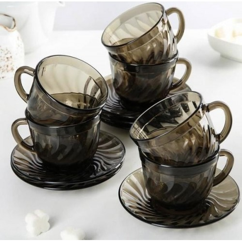 Сервиз чайный LUMINARC ОКЕАН ЭКЛИПС, 12 предметов H9147/1