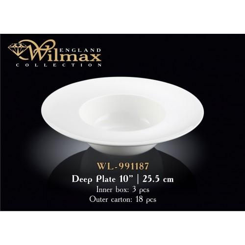 Тарелка суповая Wilmax 991187