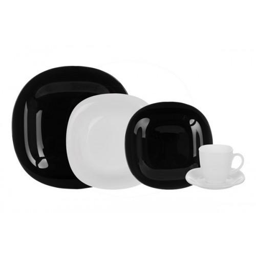 Сервиз столовый 30 предметов Luminarc Франция Carine black&white N1500