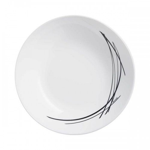 Тарелка суповая ARCOPAL DOMITILLE NOIR