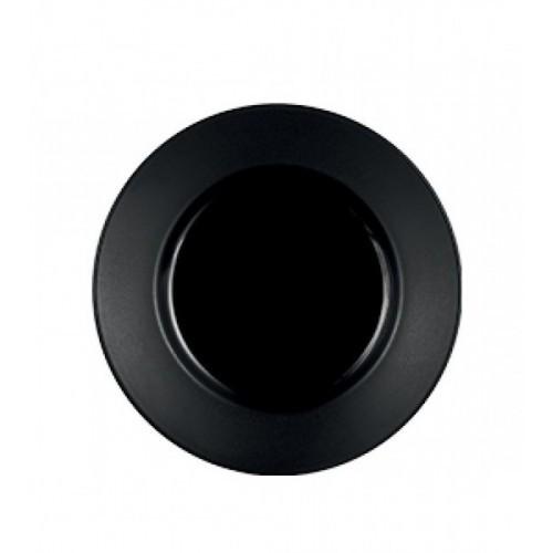 Тарелка пирожковая C&S OLEA BLACK