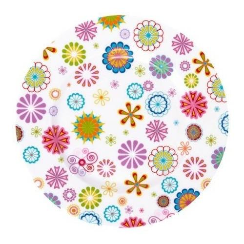 Тарелка десертная Blumen 19 см. Krauff 21-244-011