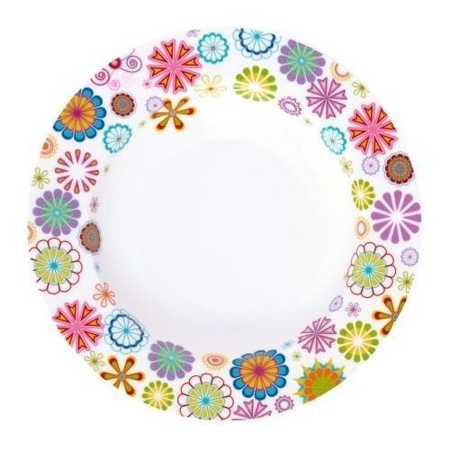 Тарелка глубокая Blumen 21,5 см. Krauff 21-244-013