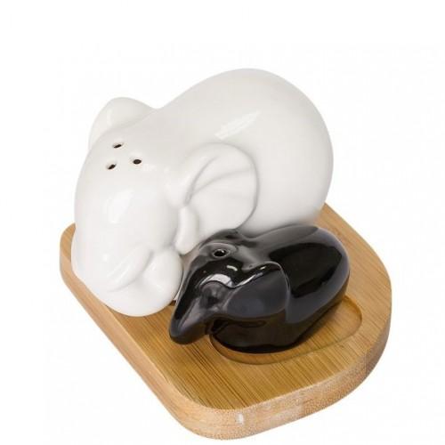 """Набор для специй соль\перец """"Большой и маленький слоник"""" Krauff 21-275-011"""