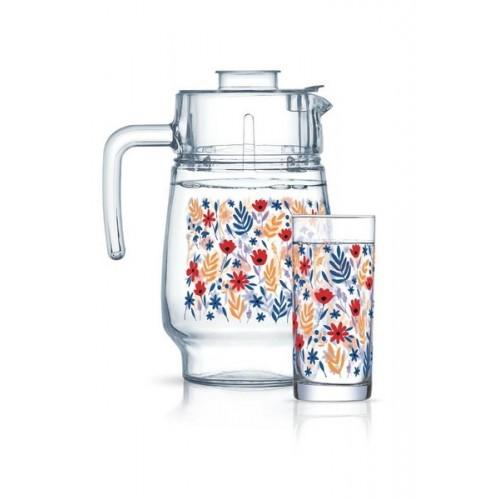 Набор для напитков 7 предметов Luminarc Amsterdam Spring Fiesta P4818
