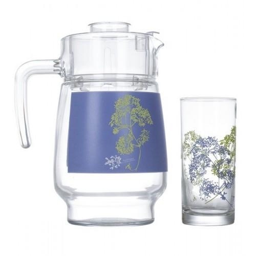 Набор для напитков 7 предметов Luminarc Purple N5091