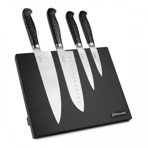 Набор кухонных ножей Rondell RainDrops, 4 предмета