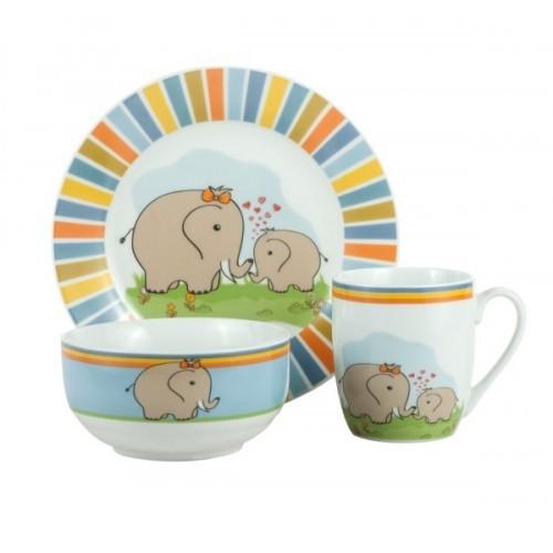Детский набор LIMITED EDITION ELEPHANTS 1, 3 предмета