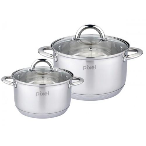 Набор посуды PIXEL, 4 предмета