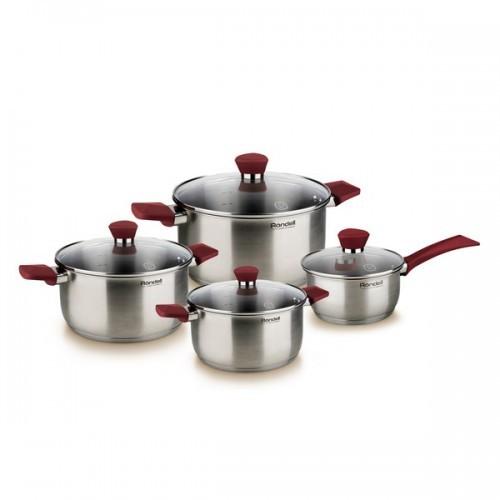 Набор посуды Rondell Strike (8 предметов)