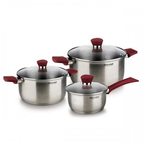 Набор посуды Rondell Strike (6 предметов)