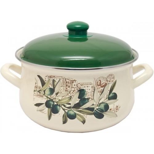 Кастрюля INFINITY Olive (6.0 л) 24 см