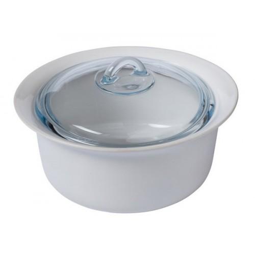 Кастрюля PYREX Supreme white (2.5) 26 см