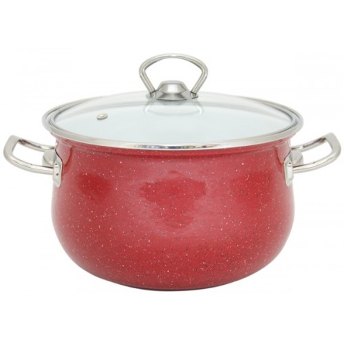 Кастрюля INFINITY Red (2.9 л) 18 см