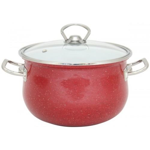 Кастрюля INFINITY Red (6.5 л) 24 см