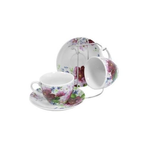 Набор чайный Шиповник 5 предметов KERAMIA.K24-198-069