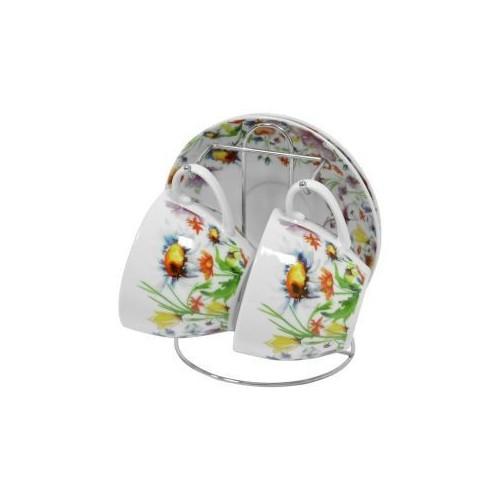 Набор чайный Полевые цветы 5 предметов KERAMIA K24-198-080