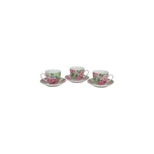 Набор чайный Пионы 12 предметов KERAMIA.K24-198-056