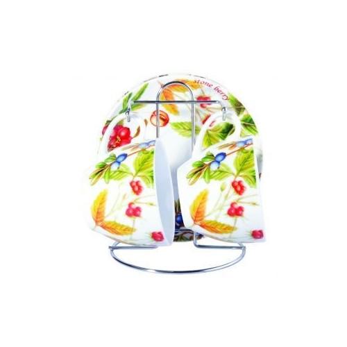 Набор чайный Лесные ягоды 5 предметов KERAMIA. K24-198-046