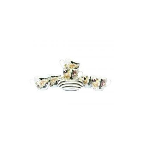 Набор чайный Белая Магнолия 12 предметов OSELYA UKRAINE K24-198-035