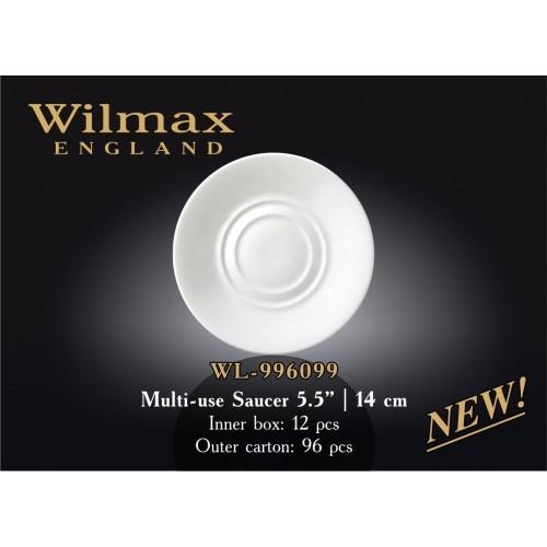 Блюдце универсальное Wilmax 14 см WL-996099