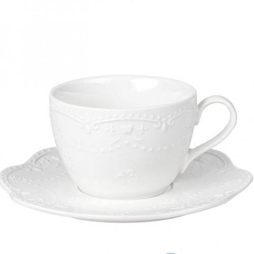 Чашка 250 мл с блюдцем Mariposa Krauff 21-252-094