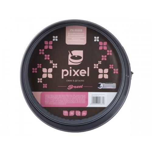 Форма круглая разъемная PIXEL BREZEL