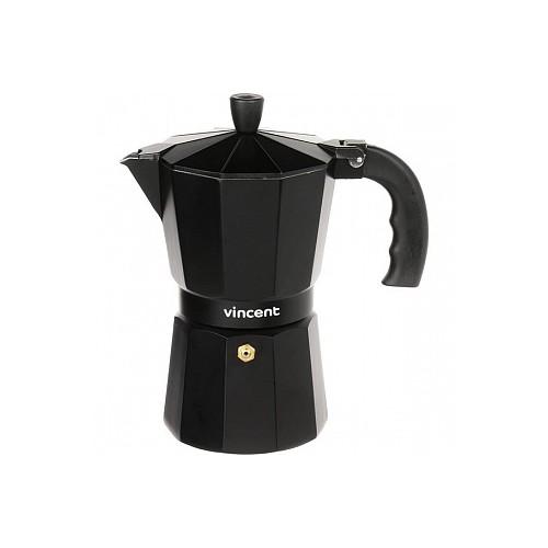 Кофеварка гейзерная 3чашки Vincent VC-1366-300