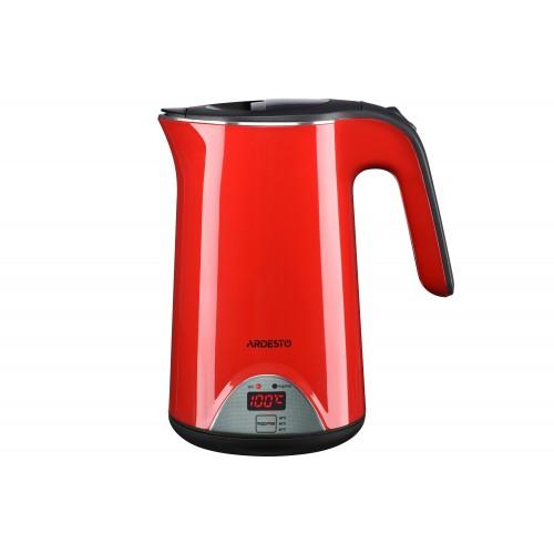Электрический чайник 1.7 л (1800 Вт) с поддержкой температуры Ardesto EKL-1617RD