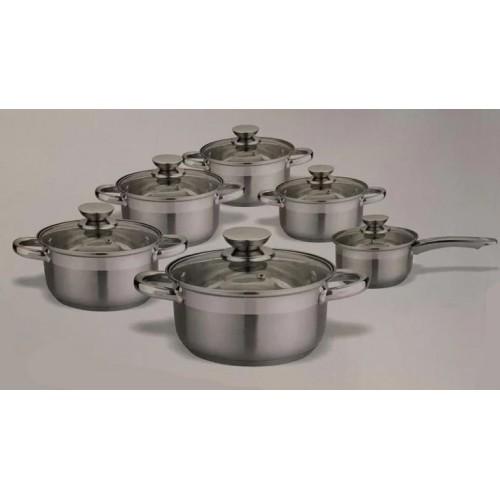Набор посуды из нержавеющей стали 12 предметов Ritter 88-222-032