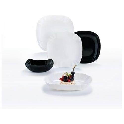 Сервиз столовый 19 предметов Luminarc Lotusia Black&White Q3022