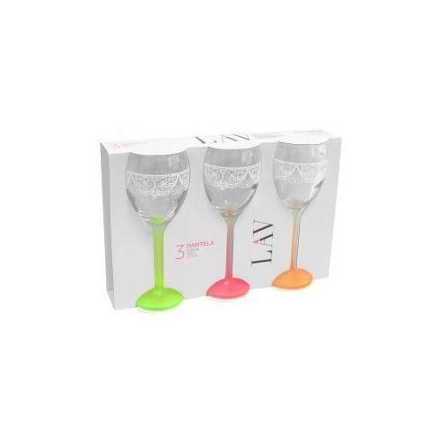 Набор бокалов для вина VENUE SWEET MEMORIES 245 мл 3 шт LAV