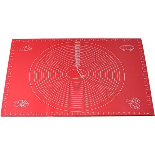 Коврик силиконовый 60*45 см для раскатки теста и выпечки Kamille KM-7786