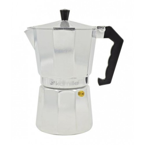 Гейзерная кофеварка Kamille на 6 чашек 300мл Kamille KM-2501